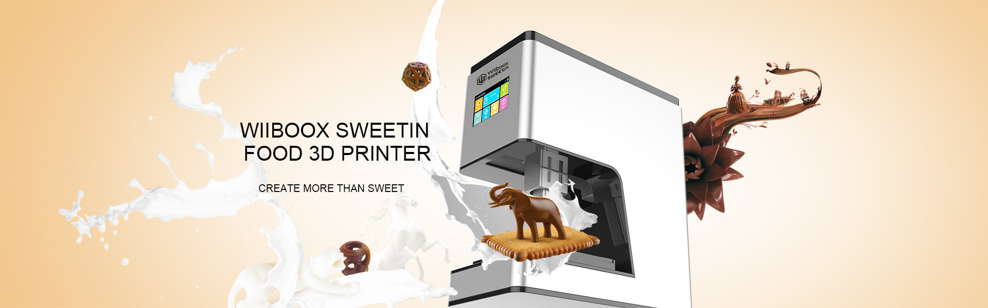 sweetin food 3d printer