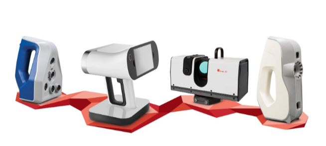 artec family 3d scanners